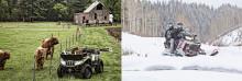 Fyrhjulingar och snöskotrar breddar MC Mässan 2015
