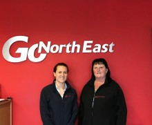 Prestigious industry awards shortlist for Go North East's star women