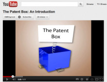 Patent tax break makes YouTube debut