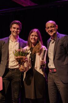 Sofie Allert, grundaren av Swedish Algae Factory, korad till Årets Unga Entreprenör Väst 2017