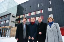 Statsråd og byråd på Brynseng skole
