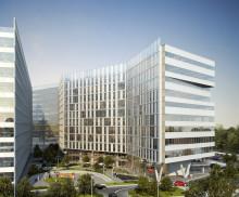 Skanska investerar EUR 38M, cirka 370 miljoner kronor, i den första fasen av kontorsprojekt i Bukarest, Rumänien
