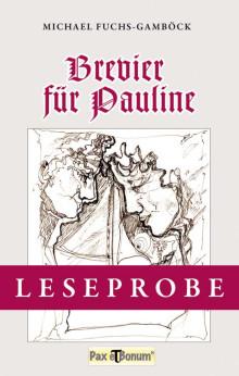"""Leseprobe Buch: """"Brevier für Pauline"""""""