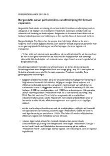 Bergendahls satsar på framtidens varuförsörjning för fortsatt expansion