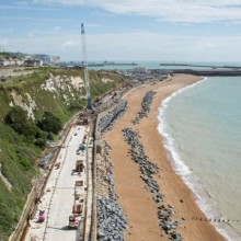 Dover to Folkestone railway repairs ahead of schedule
