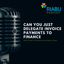 Can you just delegate invoice payments to finance