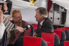 Peer Gynt observert på fly fra Oslo til Bergen