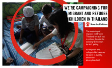 Nearly half of people surveyed in Asia say they faced discrimination when they were children - new research from Save the Children