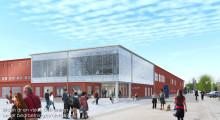 Pressinbjudan: Välkommen till första spadtaget för A-huset på Campus Luleå!