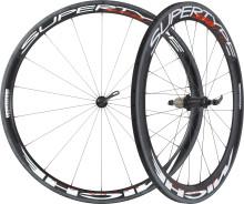 Testa att cykla med ett par riktigt fina karbonhjul från Miche