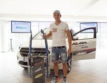 Naturbahnrodler Thomas Kammerlander ist Markenbotschafter für Ford Austria