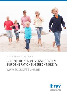 Zukunftsuhr - Aufsatz zur Generationengerechtigkeit