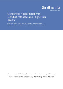 Corporate Responsibility in Conflict-Affected and High-Risk Areas