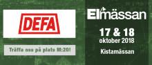 Träffa DEFA på Elmässan i Kista