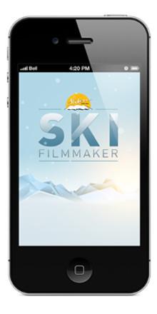 "Gratis film-app i mobilen ger familjens skidsemester ""sjukt många likes"""