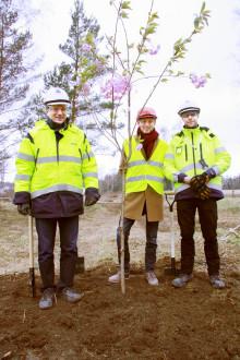 Nu byggs 200 nya bostäder i Östra Frestaby i Väsby