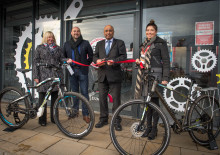 Virgin Trains opens new Bike Hub at Preston station