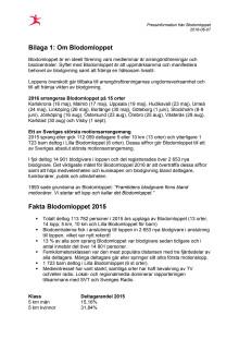 Bilaga: Information om Blodomloppet