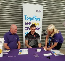​Stroke Association puts the pressure on Saints RLFC