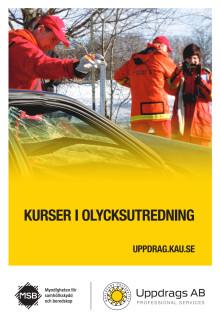Broschyr om uppdragsutbildningar i olycksutredning