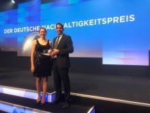 Verleihung des deutschen Nachhaltigkeitspreises 2020