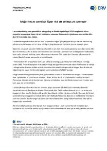 Majoritet av svenskar löper risk att smittas av zoonoser
