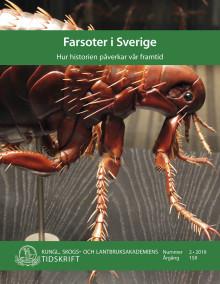 Ny skrift: Farsoter i Sverige. Hur historien påverkar vår framtid (KSLAT nr 2-2019)