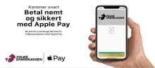Apple Pay kommer snart