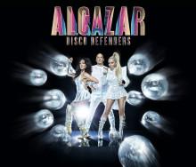 Premiär för Alcazars kritikerrosade show Disco Defenders på Hamburger Börs