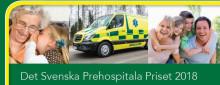 Dags att nominera till det Svenska Prehospitala Priset 2018