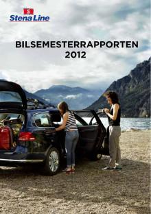 Bilsemesterrapporten 2012