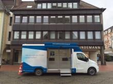 Beratungsmobil der Unabhängigen Patientenberatung kommt am 29. Mai nach Hamm.