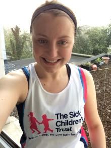 #TeamSCT - Meet Georgia who is running the London Marathon for us!