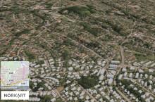 Ny 3D kartløsning: Vil kunne skape store verdier og gevinster for norske kommuner