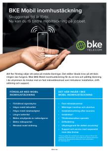 BKE Mobil inomhustäckning