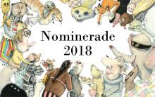 Här är de nominerade till Litteraturpriset till Astrid Lindgrens minne 2018