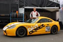 Dennis Strandberg kom trea i rafflande Ginetta GT5 Challenge