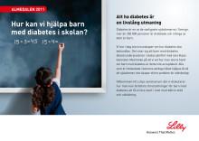 Almedalen 2011: Hur kan vi hjälpa barn med diabetes i skolan?