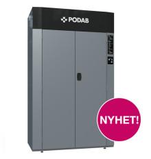PODAB:s torkskåp med värmepumpsteknik på Fastighetsmässan