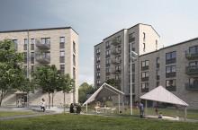 Nu startar uthyrningen av 87 nya lägenheter i Bergsjön
