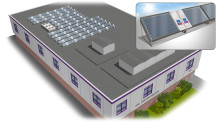 Världsrekord för Löfbergs solpanelsanläggning