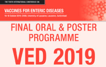 The successful immunogenicity and safety results of ETVAX® are presented at Vaccines for Enteric Diseases (VED) Oct 16-18 in Lausanne, Switzerland
