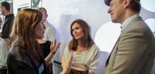 Stina Behrens blir intervjuad om cirkulär ekonomi