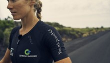 Matching spirits: Greencarrier is proud to sponsor triathlete Maja Stage Nielsen