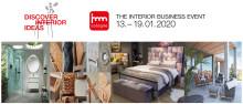 """Internationellt """"Know How"""" om inredning och design  på Imm 2020"""