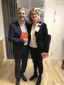  Möte med näringslivsministern i Malmö