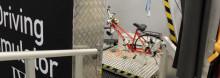 Ny cykelsimulator i projekt om interaktion