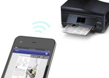 Epson apps voor mobiel afdrukken, scannen en verzenden van documenten