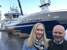 «Frøyanes» forer britene med kvalitetsfisk