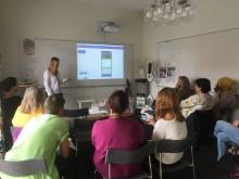 Nu utbildas personalen inför starten av Test 1 i Smart Blocks-projektet